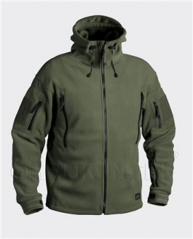 HELIKON PATRIOT Jacket - Double Fleece - Olive Grün
